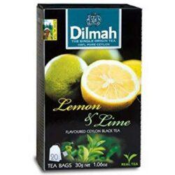 Dilmah Lemon Flavoured Tea (20 Bags) 30g