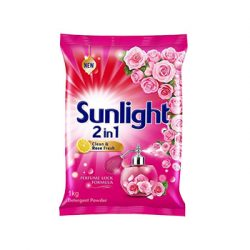 Sunlight Detergent Powder (2 In 1 Clean And Rose Fresh)