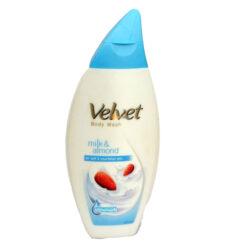 Velvet body wash milk and almond