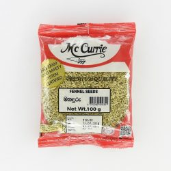 mc currie fennel seeds 100g