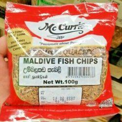 mc currie maldive fish chips